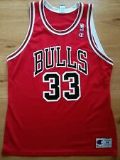 Champion Chicago Bulls Scottie Pippen NBA Jersey Taille 48/XL