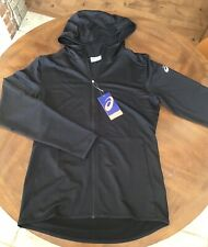 Asics Men's Black Hoodie, Size Small