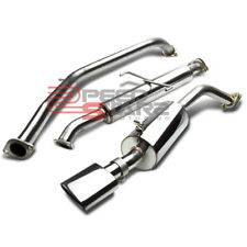 "08-15 SCION XB STAINLESS STEEL EXHAUST CATBACK SYSTEM 5.5"" MUFFLER OVAL TIP"