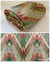 """Vintage TPSA """"Gentry"""" Fabric Multicolor Woven 1.5 Yards X 53"""" Width Piece"""