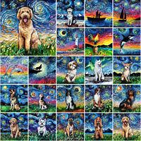 5D DIY Full Drill Diamond Oil Painting Cross Stitch Embroidery Mosaic Wall Decor