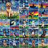 5D DIY Full Drill Diamond Oil Painting Cross Stitch Embroidery Mosaic Wall Decor