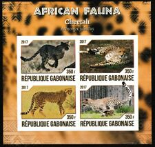 Ghepardi Africano Fauna Nuovo senza Linguella Imperf. Souvenir Foglio