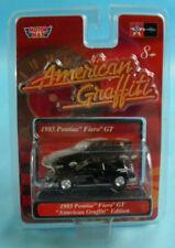 MotorMax American Graffiti 1985 Pontiac Fiero GT Black Die Cast