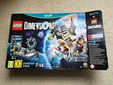 LEGO DIMENSIONS Starter Pack Nintendo WiiU - 71174 - Boxed Complete - Nice!