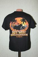 Harley Davidson Shirt Jersey PETERSON'S Key West Florida 2015 HD Size L Hanes