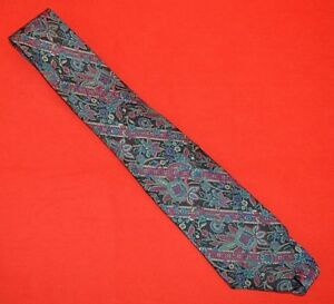 VINTAGE CHRISTIAN DIOR MONSIEUR PURE SILK TIE - HAND MADE IN ENGLAND!