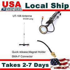 Universal Nagoya Car Camion Magnetic Holder Antenna UHF VHF Female Quick Re