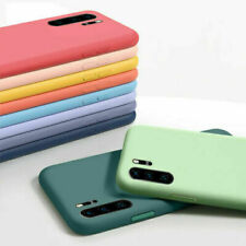 Liquid Silicone ShockProof Case Cover For Huawei P40 P30 Pro P20 Lite P Smart
