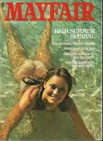 Collectable Mayfair Sex Magazine Vol 9 Number 8. Lesley Munday, Eve Mallory