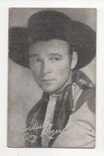 Roy Rogers 1940's 1950's Cowboy Exhibit Penny Arcade Card #1