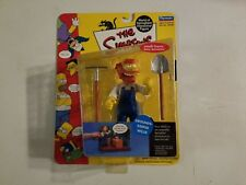 The Simpsons Grounds Keeper Wille Action Figure New, Playtmates