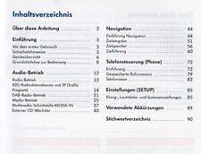 VW RNS 310 RNS 315 Betriebsanleitung 2010 für  Navigationssystem Handbuch RN