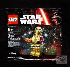 LEGO Star Wars - C-3PO Minifigure - 5002948 - The Force Awakens - New Sealed