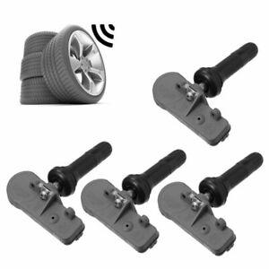 4 Pcs Car TPMS Tire Pressure Monitoring Sensors 13581558 For GM Chevy GMC Buick
