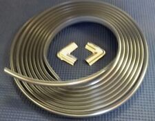 1973-1987 CHEVROLET GMC PICKUP TRUCK CHROME LOCK STRIP FOR REAR WINDOW RUBBER