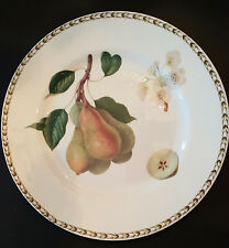 ROSINA-QUEEN'S HOOKERS FRUIT Fine Bone China DINNER PLATE PEAR, New (R.H.S.)