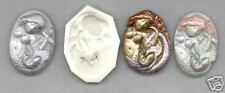 Mermaid w/Fish Cameo Clay Mold 0 S/H AFTER FIRST 1