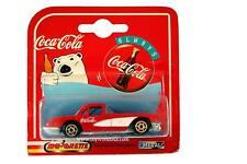 1997 Majorette Coca~Cola 200 Series 1958 Chevrolet Corvette Red