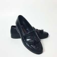 Johnston and Murphy Mens Loafers Black Tassel Size 8 M