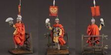 Tin toy soldiers  painted 54 mm Roman warrior..