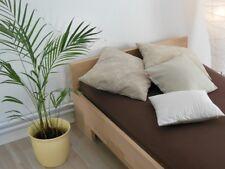 Massivholz Bett 90x200 Einzelbett Buche massiv Echt Hozbett Vollholzbett Fuß II