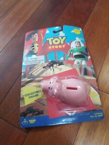 Disney Toy Story Hamm Collectible Figure 1995 Thinkway Toys Rare Find