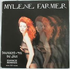 "MYLENE FARMER - MAXI 45T (12"") ""SOUVIENS-TOI DU JOUR"" - 1° POCHETTE ""ERREUR"""