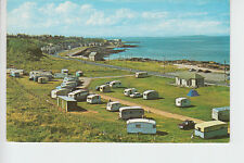 Early 1960's view of the Caravan site at Buckie, Banffshire