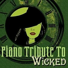 Piano Tribute to Wicked the Musical by Copycats (CD, Aug-2006, CC Entertainment)