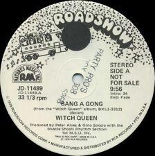 WITCH QUEEN Bang A Gong b/w Witch Queen (1979 U.S. White Label Promo 12inch)