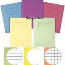 A4 casa escuela escolarización Silvine Libros de ejercicio portátiles deberes -80 páginas.