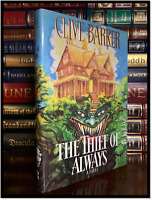 The Thief Of Always ✎SIGNED✎ by CLIVE BARKER Inscribed Peter Hardback 1st Print
