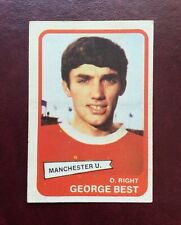 A&BC 1968 1st SERIES YELLOW BACK CARD # 44 ~ GEORGE BEST of MAN UNITED ~ Nr MINT
