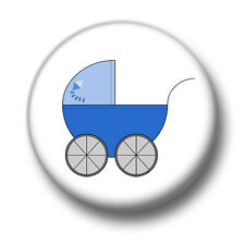Baby Boy Blue 1 Inch / 25mm Pin Button Badge Pregnant Pregnancy Mum Dad To Be