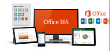Microsoft Office 2016 Professional Office 365 5 Users Lifetime