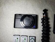 Sony Rx100 V Mark 5 (4k, f1.8, 20.1mp) Digital Camera