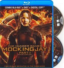 THE HUNGER GAMES: MOCKINGJAY PART 1 *NEW BLU-RAY+DVD*