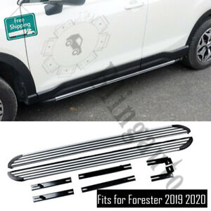 Fits for Subaru Forester 2019-2021 running board side steps nerf bars side pedal