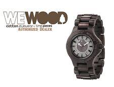 NEW WeWOOD Sargas Black Limited Wood Watch Unisex