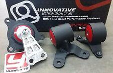 Innovative 90650 Motor Mounts Kit Acura RSX 02-06 Civic Si EP3 02-05 Steel