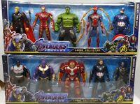 Avengers Endgame 18cm Action Figure Thor Hulk Buster Ironman Sipderman Thanos AU