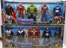 Avengers Endgame Black Panther Thor Hulk Buster Ironman Sipderman Thanos AU