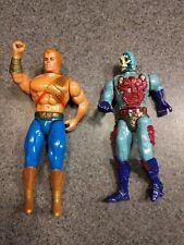 New Adventures Of He-Man Action Figure Lot Mattel He-Man Skeletor Flogg VTG 1988