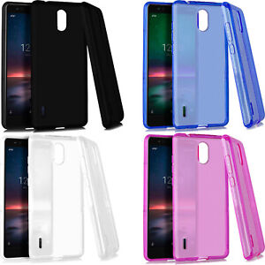 For AT&T Nokia 3.1 A TPU CANDY Flexi Gel Skin Case Phone Cover Accessory