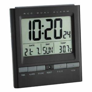 TFA 60.2524 86 x 41 x 195mm MSF Radio Controlled Alarm Clock