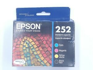 Epson 252 DURABrite Ultra Color/Black Combo 4 Pack ink - 9/2020