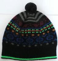 Paul Smith Wool Hat Grey Blue Black