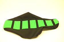 New Kawasaki Green and Black Ribbed Seat cover KX80 KX85 1991-2013