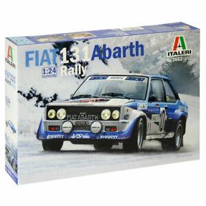 Italeri 3662 Fiat 131 Abarth Rally 1:24 Plastic Model Kit